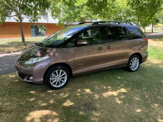 2019 Toyota Tarago ACR50R GLX Brown 7 Speed Constant Variable Wagon