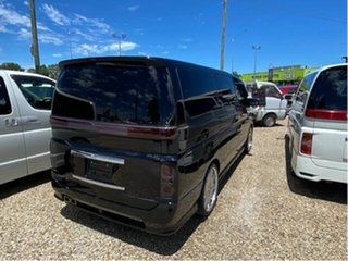 2008 Nissan Elgrand E51 Black 5 Speed Automatic Wagon