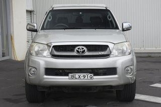 2009 Toyota Hilux GGN25R MY09 SR5 Silver 5 Speed Automatic Utility