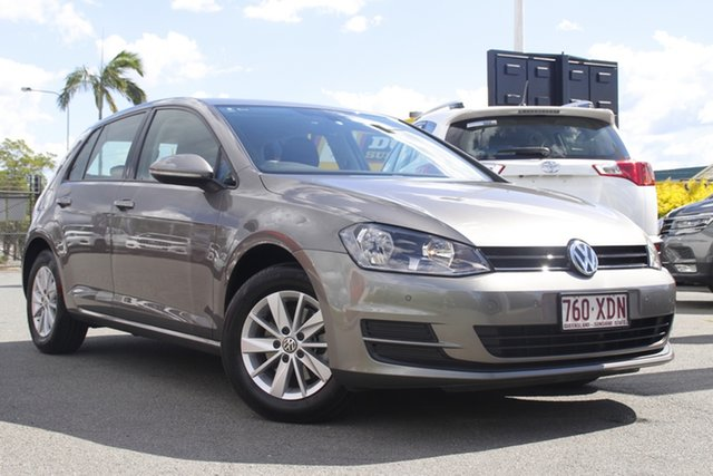 Used Volkswagen Golf VII MY17 92TSI Trendline Rocklea, 2017 Volkswagen Golf VII MY17 92TSI Trendline Limestone Grey 6 Speed Manual Hatchback