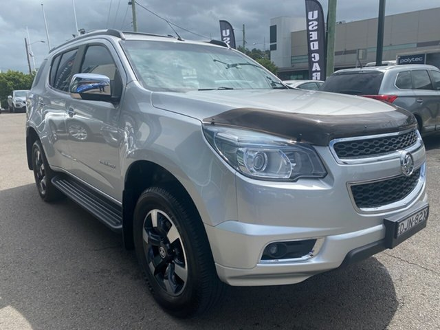 Used Holden Colorado 7 RG MY16 Trailblazer Cardiff, 2016 Holden Colorado 7 RG MY16 Trailblazer Silver 6 Speed Sports Automatic Wagon