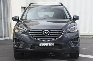 2016 Mazda CX-5 KE1022 Grand Touring SKYACTIV-Drive i-ACTIV AWD Grey 6 Speed Sports Automatic Wagon