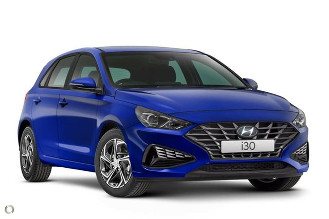 New Hyundai i30 PD.V4 MY21 Nailsworth, 2020 Hyundai i30 PD.V4 MY21 Intense Blue 6 Speed Manual Hatchback