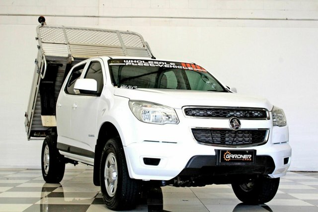 Used Holden Colorado RG MY16 LS (4x2) Burleigh Heads, 2015 Holden Colorado RG MY16 LS (4x2) White 6 Speed Automatic Crew Cab Chassis