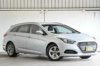 2017 Hyundai i40 VF4 Series II Active Tourer Silver 6 Speed Sports Automatic Wagon.