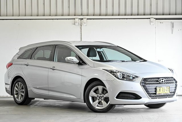 Used Hyundai i40 VF4 Series II Active Tourer Laverton North, 2017 Hyundai i40 VF4 Series II Active Tourer Silver 6 Speed Sports Automatic Wagon