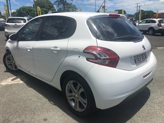 2014 Peugeot 208 A9 MY13 Active White 4 Speed Automatic Hatchback