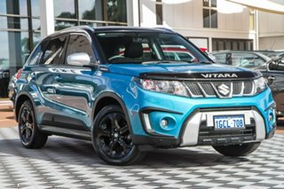 2016 Suzuki Vitara LY S Turbo 2WD Turquoise/Black Roof 6 Speed Sports Automatic Wagon.