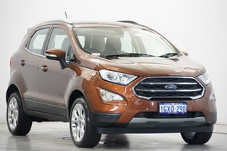 2019 Ford Ecosport BL 2019.25MY Titanium Brown 6 Speed Automatic Wagon