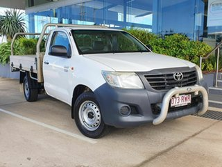 2011 Toyota Hilux Workmate White 5 Speed Manual Utility.