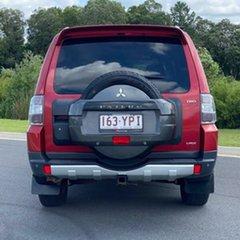 2007 Mitsubishi Pajero NS VR-X Red 5 Speed Sports Automatic Wagon