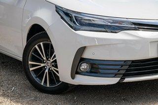 2018 Toyota Corolla ZRE172R ZR S-CVT White 7 Speed Constant Variable Sedan.