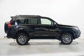 2018 Toyota Landcruiser Prado GDJ150R Kakadu Black 6 Speed Sports Automatic Wagon