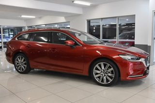 2020 Mazda 6 GL1033 Atenza SKYACTIV-Drive Red 6 Speed Sports Automatic Wagon