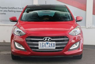 2015 Hyundai i30 GD3 Series II MY16 SR Premium Red 6 Speed Sports Automatic Hatchback