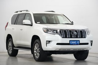 2018 Toyota Landcruiser Prado GDJ150R VX White 6 Speed Sports Automatic Wagon