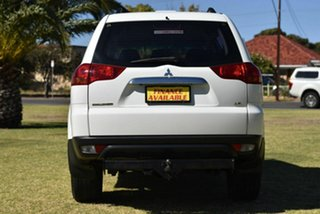 2012 Mitsubishi Challenger PB (KH) MY13 LS White 5 Speed Sports Automatic Wagon