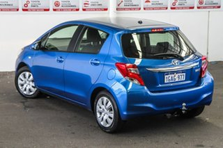 2016 Toyota Yaris NCP130R MY15 Ascent Tidal Blue 4 Speed Automatic Hatchback.