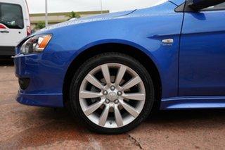2007 Mitsubishi Lancer CJ VR-X Blue 6 Speed CVT Auto Sequential Sedan.
