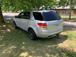2011 Ford Territory SZ Titanium Seq Sport Shift Silver 6 Speed Sports Automatic Wagon