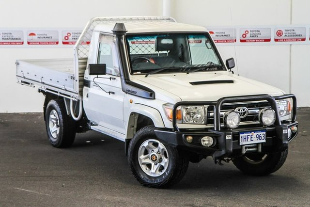Pre-Owned Toyota Landcruiser VDJ79R 09 Upgrade GXL (4x4) Rockingham, 2010 Toyota Landcruiser VDJ79R 09 Upgrade GXL (4x4) French Vanilla 5 Speed Manual Cab Chassis
