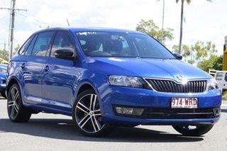 2016 Skoda Rapid NH MY17 Spaceback DSG Blue 7 Speed Sports Automatic Dual Clutch Hatchback.