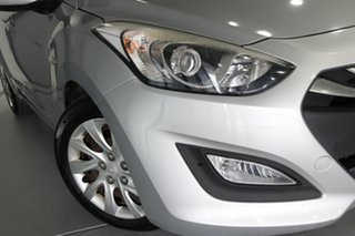2014 Hyundai i30 GD MY14 Active 1.6 CRDi Silver 6 Speed Automatic Hatchback