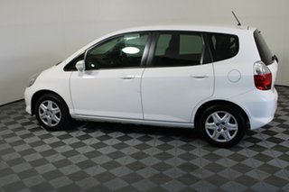 2007 Honda Jazz GD VTi White 7 Speed Constant Variable Hatchback.