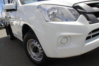 2017 Isuzu D-MAX MY17 SX 4x2 Splash White 6 Speed Manual Cab Chassis.