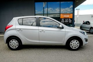 2012 Hyundai i20 PB MY12 Active Silver 5 Speed Manual Hatchback.
