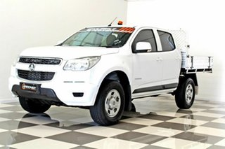 2015 Holden Colorado RG MY16 LS (4x2) White 6 Speed Automatic Crew Cab Chassis
