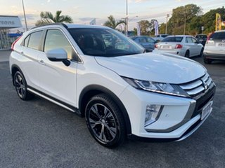 2017 Mitsubishi Eclipse Cross YA MY18 LS 2WD White 8 Speed Constant Variable Wagon.