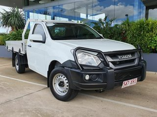 2017 Isuzu D-MAX SX White 6 Speed Manual Utility.