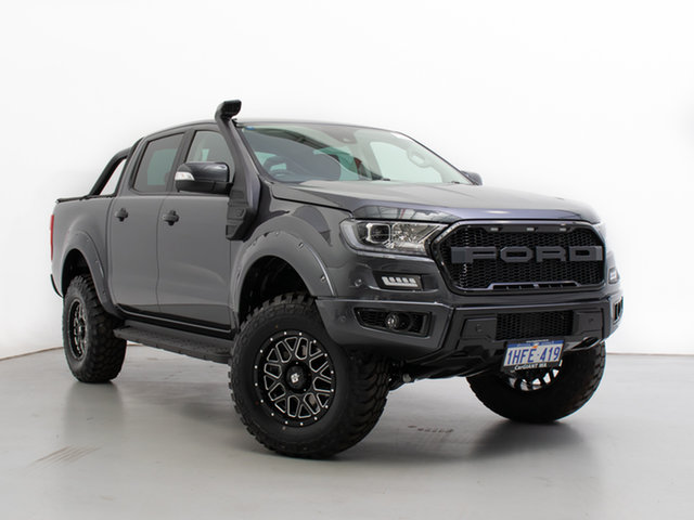 Used Ford Ranger PX MkIII MY21.25 XLT 3.2 (4x4), 2020 Ford Ranger PX MkIII MY21.25 XLT 3.2 (4x4) Grey 6 Speed Automatic Double Cab Chassis
