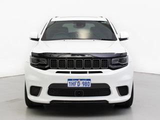 2019 Jeep Grand Cherokee WK MY18 Trackhawk (4x4) White 8 Speed Automatic Wagon.