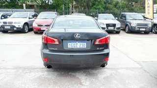 2007 Lexus IS GSE20R IS250 Prestige Grey 6 Speed Sports Automatic Sedan