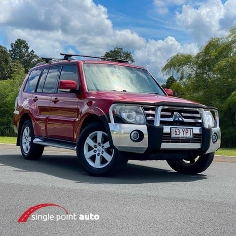 Used Mitsubishi Pajero NS VR-X Chevallum, 2007 Mitsubishi Pajero NS VR-X Red 5 Speed Manual Wagon