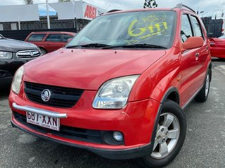 2002 Holden Cruze YG Red 4 Speed Automatic Wagon.