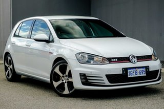 2014 Volkswagen Golf VII MY15 GTI DSG White 6 Speed Sports Automatic Dual Clutch Hatchback.