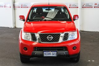 2012 Nissan Navara D40 MY12 ST (4x4) Flame Red 5 Speed Automatic Dual Cab Pick-up