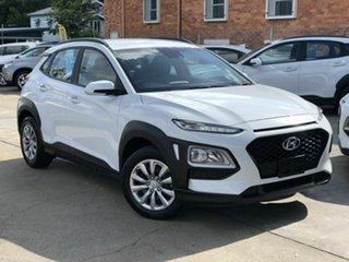 2019 Hyundai Kona OS.3 MY20 Go 2WD White 6 Speed Sports Automatic Wagon.