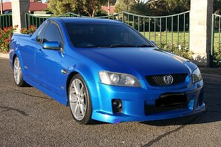 2008 Holden Commodore VE SS-V Blue 6 Speed Manual Utility.