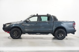 2013 Ford Ranger PX Wildtrak Double Cab Grey 6 Speed Manual Utility.
