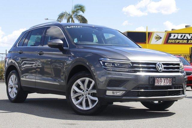 Used Volkswagen Tiguan 5N MY17 162TSI DSG 4MOTION Highline Rocklea, 2016 Volkswagen Tiguan 5N MY17 162TSI DSG 4MOTION Highline Indium Grey 7 Speed