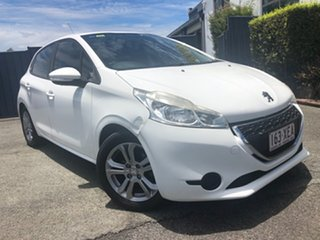 2014 Peugeot 208 A9 MY13 Active White 4 Speed Automatic Hatchback.