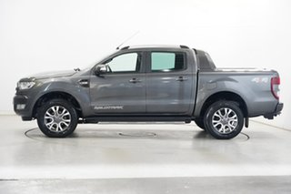 2017 Ford Ranger PX MkII 2018.00MY Wildtrak Double Cab Grey 6 Speed Sports Automatic Utility.