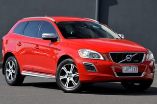 2011 Volvo XC60 DZ MY11 T6 Geartronic AWD R-Design Red 6 Speed Sports Automatic Wagon.