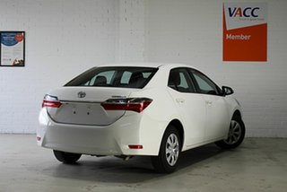 2019 Toyota Corolla ZRE172R Ascent S-CVT White 7 Speed Constant Variable Sedan