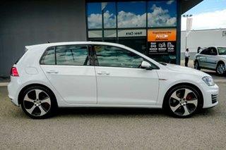 2014 Volkswagen Golf VII MY15 GTI DSG White 6 Speed Sports Automatic Dual Clutch Hatchback.
