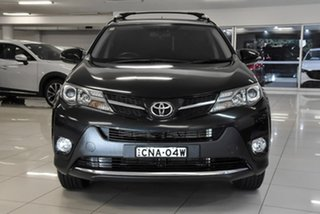 2013 Toyota RAV4 ALA49R GXL AWD Black 6 Speed Sports Automatic Wagon